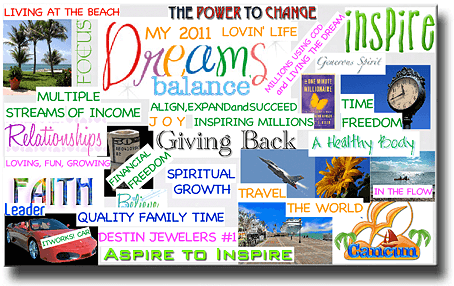 Example Vision Board