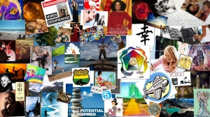 Overcrowded Vision Board