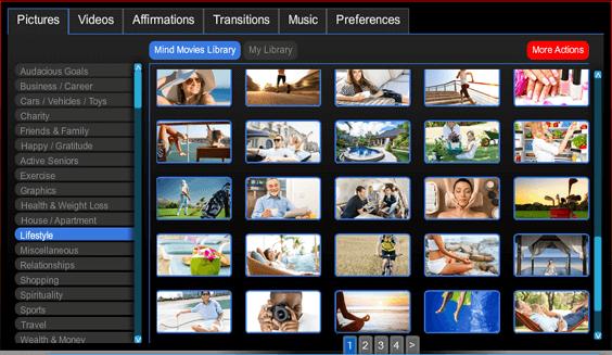 Mind Movies Screenshot A